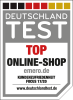 Top Online-Shop Siegel
