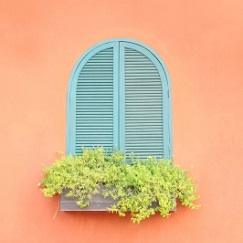 Gut gegen Hitze: Geschlossene Fenster