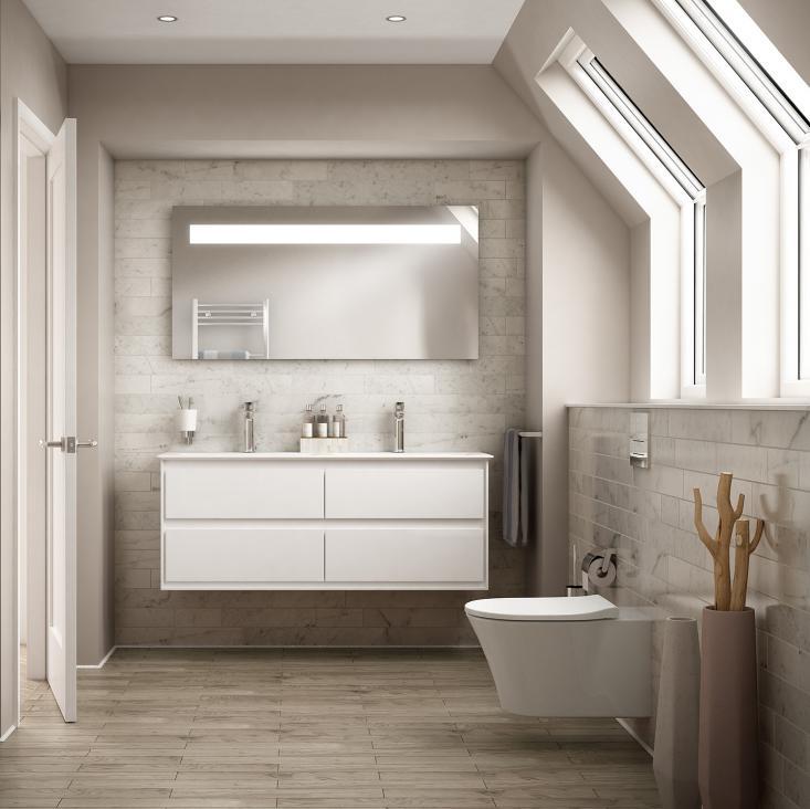 Badewanne Mit Dusche Dachschrage: Badezimmer Mit Dachschräge Tipps ... Badezimmereinrichtung Schrge