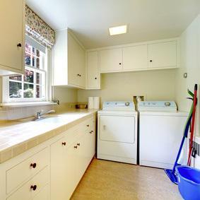Kellerraum wohnlich gestalten  Mit 8 Tipps Ihre Traum-Waschküche einrichten