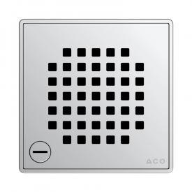 ACO Quadrato Designrost, verriegelbar L: 14 B: 14 cm