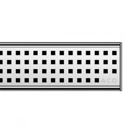 ACO ShowerDrain C Designabdeckung Quadrato für Duschrinne: 70 cm