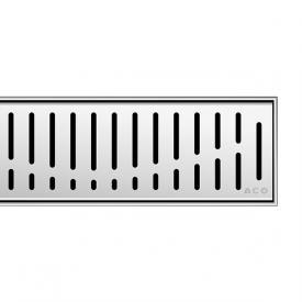 ACO ShowerDrain C Designabdeckung Wave für Duschrinne: 70 cm