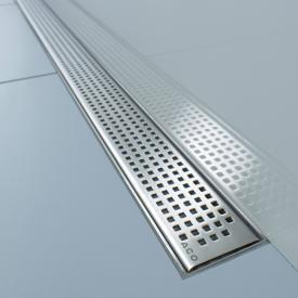 ACO ShowerDrain E/M Designabdeckung Quadrato für Duschrinne: 80 cm
