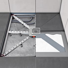 ACO ShowerFloor für zentrierten Ablauf