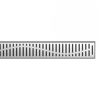 ACO ShowerDrain E+/M+ Designabdeckung Wave für Duschrinne: 70 cm