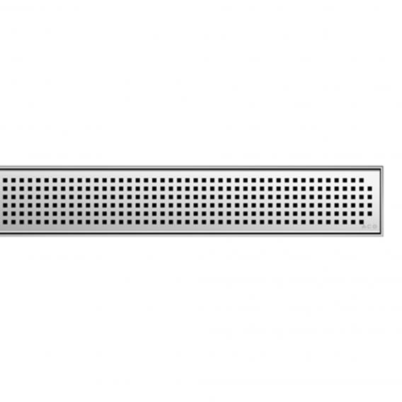 ACO ShowerDrain E+/M+ Designabdeckung Quadrato für Duschrinne: 100 cm