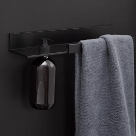 Alape Assist Handtuchhalter mit Lotionspender schwarz matt