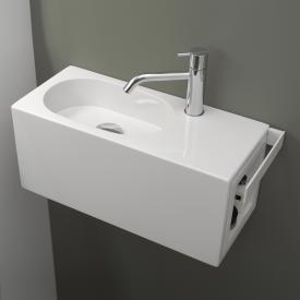 Alape WP Fusion.S Waschplatz weiß, mit 1 Hahnloch