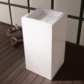 Alape WT.RX Waschtisch, freistehend, eckig weiß