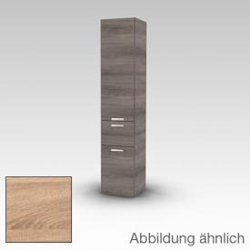 Artiqua 400 Hochschrank mit 1 Tür, 1 Auszug und 1 Wäscheklappe castello eiche