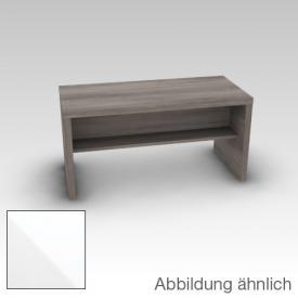Artiqua 400 Sitzbank Korpus weiß glanz