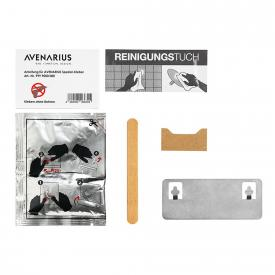 Avenarius Spezial-Kleber mit Wandbefestigung eckig