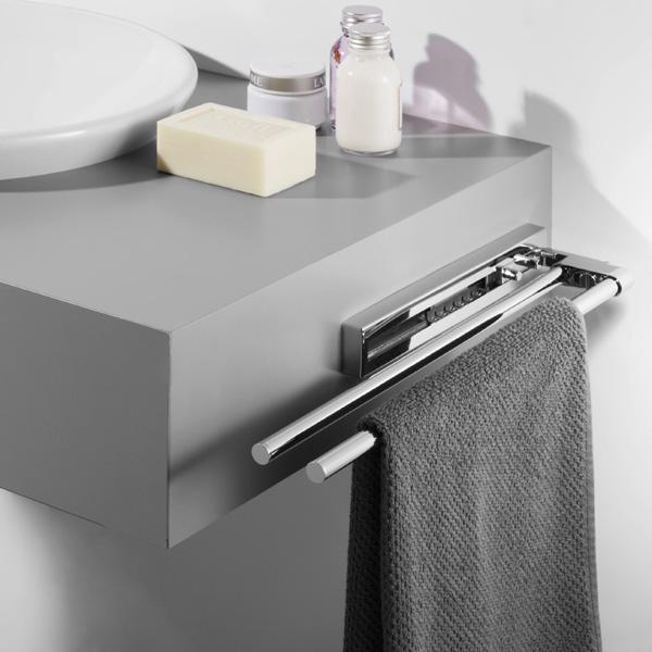 Avenarius Handtuchhalter ausziehbar 570 mm 2-fach - 9004301010 ...