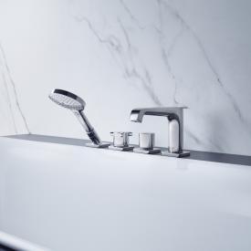 AXOR Citterio E 4-Loch Wannenrandarmatur mit Thermostat chrom