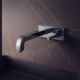 AXOR Citterio Einhebel-Waschtischmischer mit Platte für Wandmontage Ausladung: 220 mm