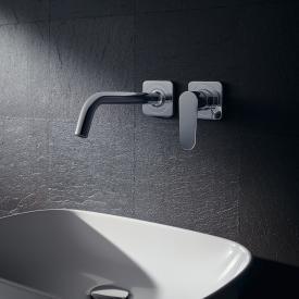 AXOR Citterio M Einhebel-Waschtischmischer mit Rosetten für Wandmontage Ausladung: 227 mm
