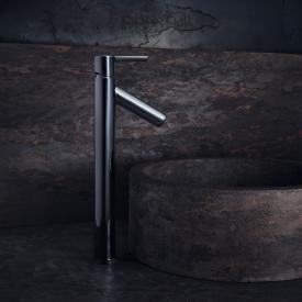 AXOR Starck Einhebel-Waschtischmischer 250, für Waschschalen, mit Hebelgriff chrom, mit Ablaufgarnitur