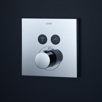 AXOR ShowerSelect Square Thermostat Unterputz für 2 Verbraucher
