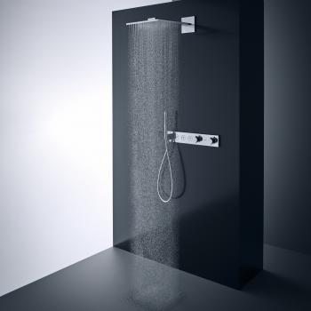AXOR ShowerSolutions 2jet Kopfbrause mit Brausearm