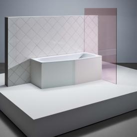 Bette Bambino Raumspar-Badewanne weiß, mit BetteGlasur Plus, für Griffmontage