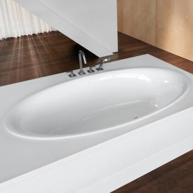 Bette Eve Oval-Badewanne, Einbau weiß