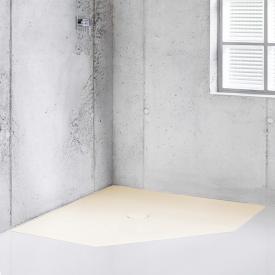 Bette Floor Caro Fünfeck-Duschwanne flax