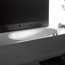 Bette Lux Oval-Badewanne, Einbau weiß