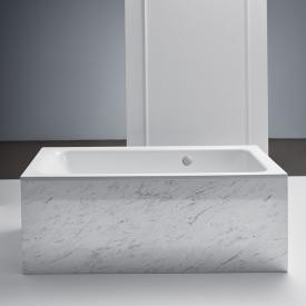 Bette Select Rechteck-Badewanne mit seitlichem Überlauf hinten weiß, mit BetteAntirutsch