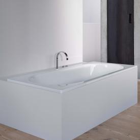 Bette Starlet Rechteck-Badewanne weiß, für Griffmontage