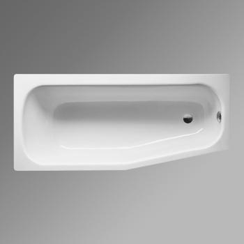 Bette Bambino Raumspar Badewanne, Fußende rechts weiß, für Griffmontage