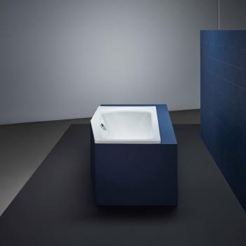 Bette Luna Raumspar Badewanne, Fußende links weiß