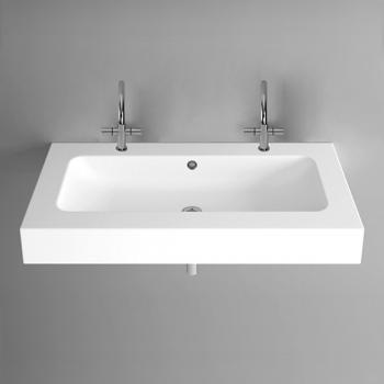 Bette One Wand Waschtisch weiß