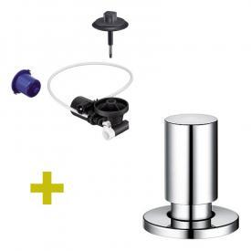 Blanco InFino® Nachrüst-Set für InFino-Ablaufsystem, mit Comfort Zug-Ablauffernbedienung chrom