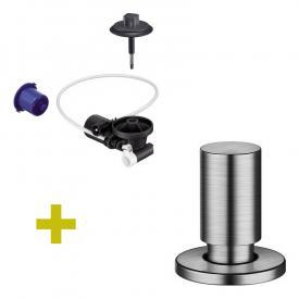 Blanco InFino® Nachrüst-Set für InFino-Ablaufsystem, mit Comfort Zug-Ablauffernbedienung edelstahl gebürstet