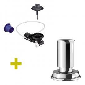 Blanco InFino® Nachrüst-Set für InFino®-Ablaufsystem, mit Livia Zug-Ablauffernbedienung chrom