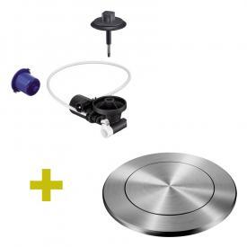 Blanco InFino® Nachrüst-Set für InFino-Ablaufsystem, mit PushControl-Ablauffernbedienung