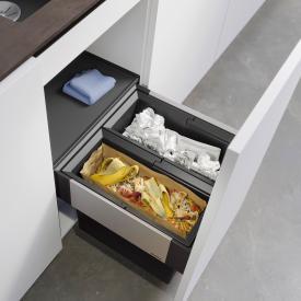Blanco Select II Abfallsystem mit Systemabdeckung, für 45 cm Unterschrank
