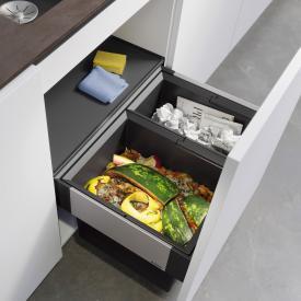 Blanco Select II Abfallsystem mit Systemabdeckung, für 60 cm Unterschrank
