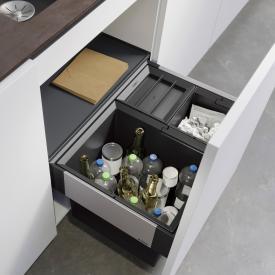 Blanco Select II Abfallsystem mit Systemabdeckung und 1 Eimerdeckel, für 60 cm Unterschrank
