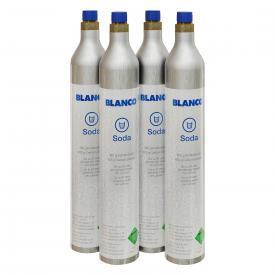 Blanco Soda Starterkit CO2 Flaschen 425 g (4 Stück)