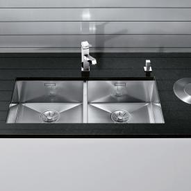 Blanco Zerox 400/400-U Spüle edelstahl seidenglanz