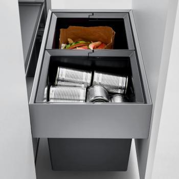 Blanco Select Compact Abfallsystem für 60 cm Unterschrank