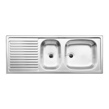 Blanco Top Spüle EZS 11x 4 B: 110 T: 43,5 cm
