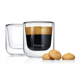 Blomus NERO Thermo-Espressogläser, 2er-Set