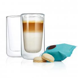 Blomus NERO Thermo-Latte Macchiatogläser, 2er-Set