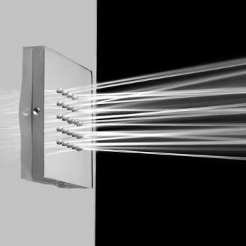 Bossini Seitenbrause Cubic-Flat B: 100 H: 100 mm