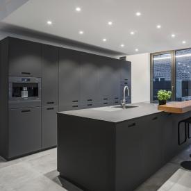 BRUMBERG LED Einbaustrahler eckig, schwenkbar mit dim2warm