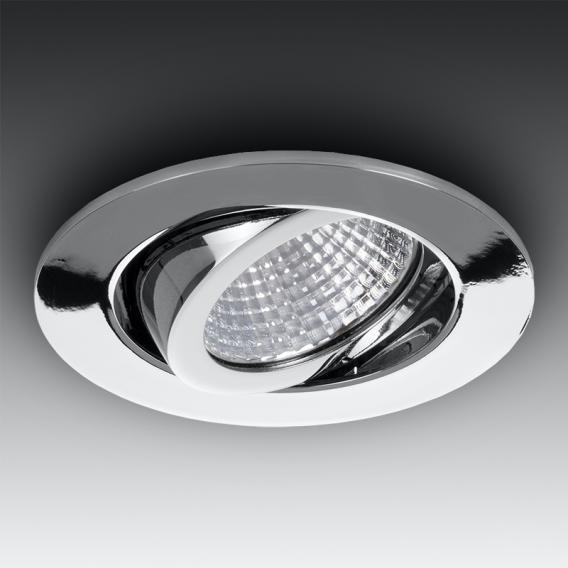 BRUMBERG LED Einbaustrahler IP65 rund, schwenkbar