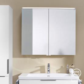 Burgbad Eqio Spiegelschrank mit LED-Beleuchtung weiß glanz, ohne Waschtischbeleuchtung